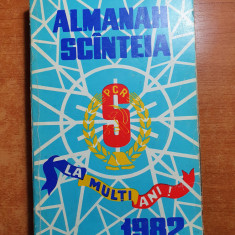 almanah scanteia 1982