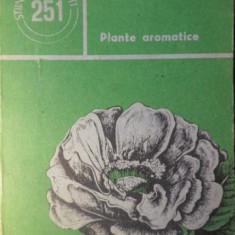 PLANTE AROMATICE - A.S. POTLOG, A.GH. VINTAN