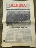 Ziarul Albina 1940 regele Mihai Carol Frontul Renasterii Nationale Strajerie