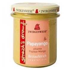 Crema Bio Tartinabila Picanta cu Papaya si Mango Zwergenwiese 160gr Cod: zw1267
