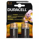 Set 2 baterii Duracell Basic, tip C