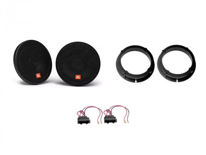 Kit audio JBL - VW Passat B5/B5.5 fata sau spate, boxe, inele , mufe adaptoare