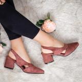 Pantofi Vanami roz eleganti -rl
