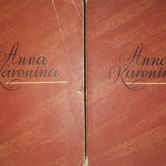 Lev Tolstoi – Anna Karenina (vol. 1 si 2, an 1956)