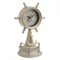 Ceas de masa metalic Sail
