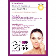 Mască facială cu miere și lapte(BLS-HMFM030)