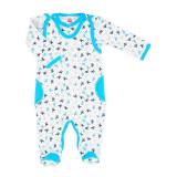 Cumpara ieftin Salopeta bebe cu bluzita - Colectia Bambi - Haine Bebelusi (Marime Disponibila:...