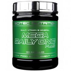 Mega Daily One Plus, complex multivitamine si minerale pentru sportivi, 120...