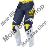 MBS Pantaloni motocross copii Fox 180 Race Se, alb/galben, 28, Cod Produs: 1733821428AU