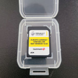 Card Original navigatie Renault Tomtom (LIVE) Europa Romania 10.45 (2020)