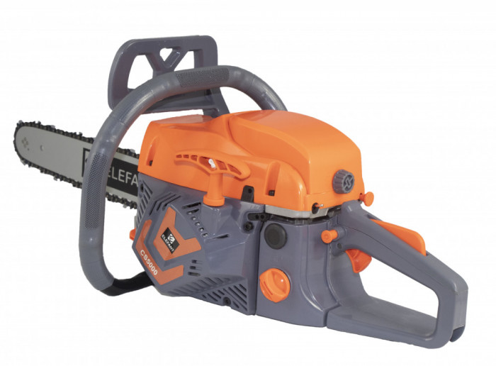 Drujba Elefant CS-5000, 5CP, 2800 RPM, Lama 40cm+Cadou cutit cutter pliabil Kronus