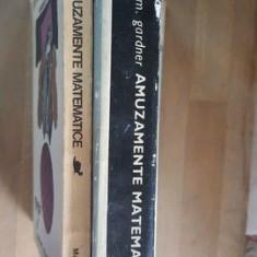 Amuzamente matematice+Alte Amuzamente matematice- Martin Gardner