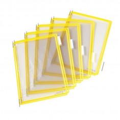 Folie A4 color pentru suport mural galben