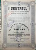 Actiuni Universul 1940