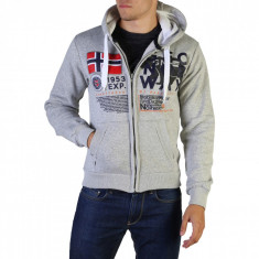 Hanorac barbati Geographical Norway model Gasado_man, culoare Gri, marime M EU