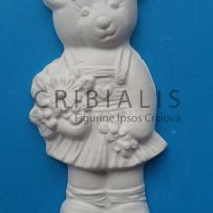 Figurine ipsos Ursoaica cu floricele