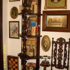 Etajera baroc f inalta, Sufragerii si mobilier salon