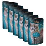 Cumpara ieftin Pliculeț pentru pisicuți Leonardo Kitten, 6 x 85 g