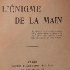 L ENIGME DE LA MAIN - MADAME A . DE THEBES