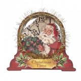 Glob in forma de ceas 16 cm Christmas Time-Y61316