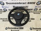 Volan sport M BMW E81,E82,E87,E90,E91,E92,E93,X1 complet stare buna