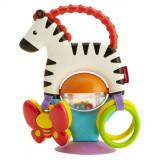 Cumpara ieftin Jucarie zornaitoare pentru bebelusi, Fisher Price, UBX, Zebra