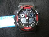 CEAS SPORT CASIO G-SHOCK GA-100 BLACK&RED-NOU-BACKLIGHT-CALITATE PESTE PRET-, Quartz, Cauciuc