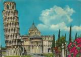 Italia, carte poştală ilustrată circulată în România, 1974