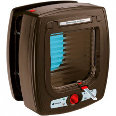 Ferplast Usa Swing Microchip Maro, 13.5x13.7cm, intrare-iesire cip