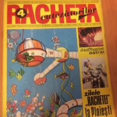 RACHETA CUTEZATORILOR  Nr 4  ( Anul 3  ) Aprilie 1971