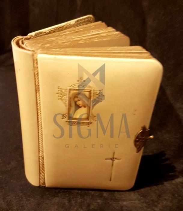 CARTE DE RUGACIUNI, CATOLICA 1901, COPERTI FILDES