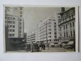 Carte pos.foto Bucuresti:Calea Victoriei,magazine,stampila rara:Ambulante 1940, Circulata, Printata