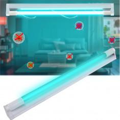 Cumpara ieftin Lampa UVC bactericida 30W, tub sticla cristal Quartz, pentru sterilizare dezinfectie 30 mp
