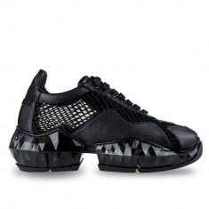 Cumpara ieftin Sneakersi Mihai Albu Black Diamond din piele naturala