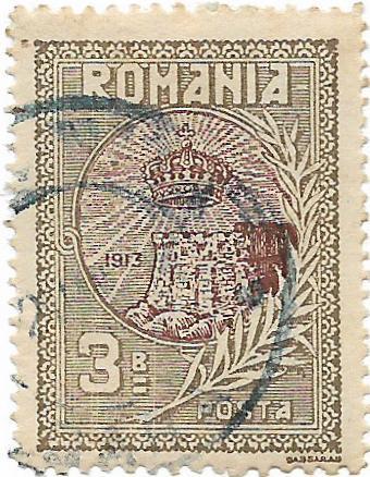Silistra, 1913 - 3 B, obliterat