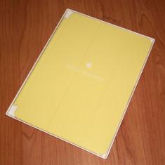 Husa iPad Air / iPad Air 2 - Apple Yellow Smart Cover (MGXN2ZM/A) , galben, nou