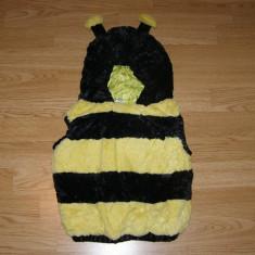 Costum carnaval serbare albina albinuta bondar pentru copii de 1-2 ani, Din imagine