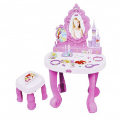Masuta frumusete pentru fetite Disney Princess, 78 cm, 17 piese