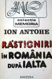 Rastigniri in Romania dupa Ialta