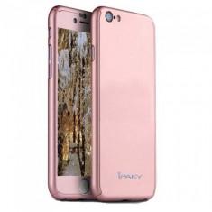 Husa Apple iPhone 8, FullBody Elegance Luxury iPaky Rose-Gold , acoperire...