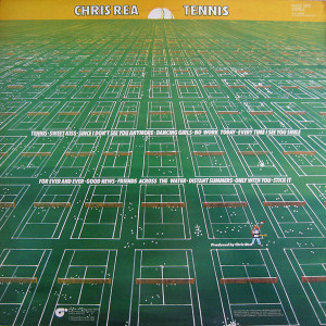 VINIL  Chris Rea ‎– Tennis  LP VG+