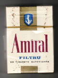 Pachet tigari de colectie Romania Amiral folie sparta ( 1 )