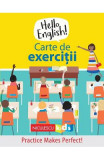 Hello English! Carte de exercitii - Sam Hutchinson, Emilie Martin