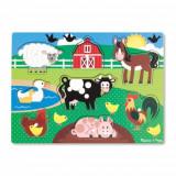Puzzle de Lemn Ferma Animalelor