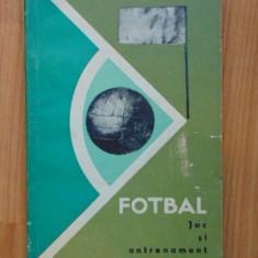 Fotbal,joc si antrenament