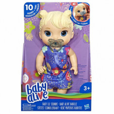 Baby Alive - Papusa interactiva Lil Sounds, blonda