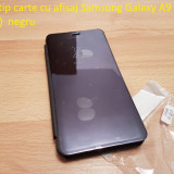 Husa tip carte cu afisaj Samsung Galaxy A9 mov, Alt model telefon Samsung, Plastic