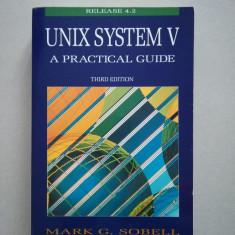 UNIX system V (sisteme de operare) (programare) (in limba engleza)