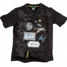 Star wars tricou jucarie maneci scurte black 9-10 ani 100% bumbac