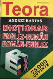 Dictionar Englez-Roman & Roman-Englez Andrei Bantas